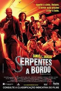 Serpentes a Bordo - Poster / Capa / Cartaz - Oficial 2