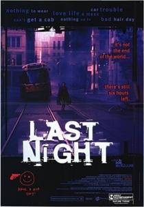 A Última Noite - Poster / Capa / Cartaz - Oficial 1