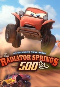 As 500 ½ de Radiator Springs - Poster / Capa / Cartaz - Oficial 2