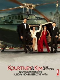 Kourtney & Kim Take New York (2ª Temporada) - Poster / Capa / Cartaz - Oficial 1
