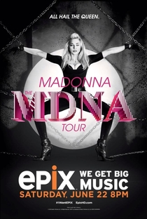 MDNA World Tour - Poster / Capa / Cartaz - Oficial 6