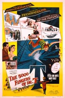 Os 5.000 Dedos do Dr. T. - Poster / Capa / Cartaz - Oficial 3