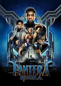Pantera Negra - Poster / Capa / Cartaz - Oficial 1