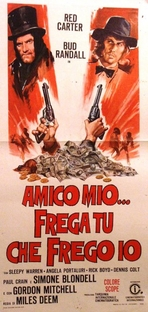 Rastro do Ouro Sangrento - Poster / Capa / Cartaz - Oficial 1