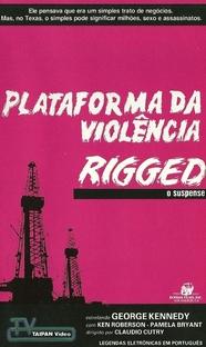 Plataforma da Violência - Poster / Capa / Cartaz - Oficial 1