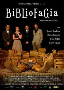 Bibliofagia - Poster / Capa / Cartaz - Oficial 1