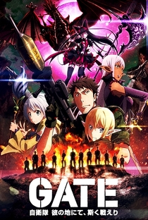 Gate: Jieitai Kanochi nite, Kaku Tatakaeri (2ª Temporada) - Poster / Capa / Cartaz - Oficial 1