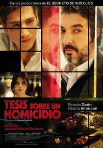 Tese Sobre um Homicídio - Poster / Capa / Cartaz - Oficial 2