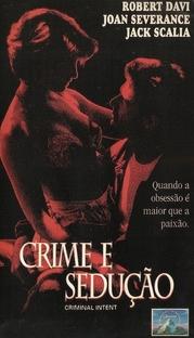 Crime e Sedução - Poster / Capa / Cartaz - Oficial 1