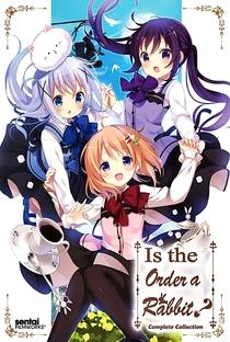 Gochuumon wa Usagi Desu ka? (1ª Temporada) - Poster / Capa / Cartaz - Oficial 7