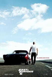 Velozes e Furiosos 6 - Poster / Capa / Cartaz - Oficial 3