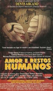 Amor e Restos Humanos - Poster / Capa / Cartaz - Oficial 2