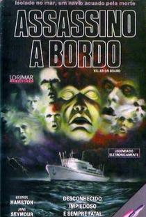 Assassino A Bordo - Poster / Capa / Cartaz - Oficial 1