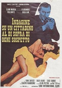 Investigação Sobre um Cidadão Acima de Qualquer Suspeita - Poster / Capa / Cartaz - Oficial 5