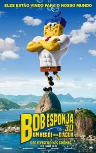 Bob Esponja: Um Herói Fora D'Água - Poster / Capa / Cartaz - Oficial 14