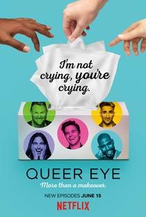 Queer Eye (2ª Temporada) - Poster / Capa / Cartaz - Oficial 1