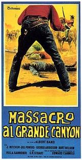 Massacre no Grande Canyon - Poster / Capa / Cartaz - Oficial 1