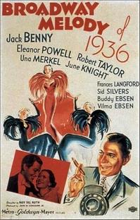 Melodia da Broadway de 1936 - Poster / Capa / Cartaz - Oficial 3