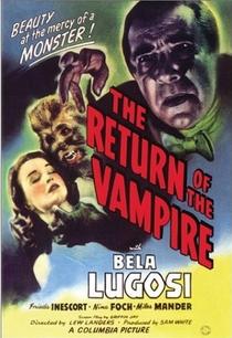 A Volta do Vampiro - Poster / Capa / Cartaz - Oficial 1