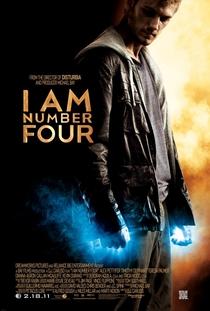 Eu Sou O Número Quatro - Poster / Capa / Cartaz - Oficial 6