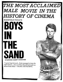 Boys in the Sand - Poster / Capa / Cartaz - Oficial 1