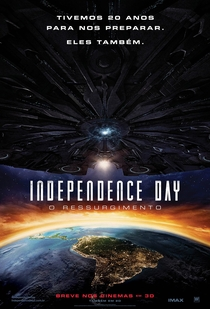 Independence Day: O Ressurgimento - Poster / Capa / Cartaz - Oficial 1