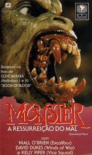 Monster - A Ressurreição do Mal - Poster / Capa / Cartaz - Oficial 2