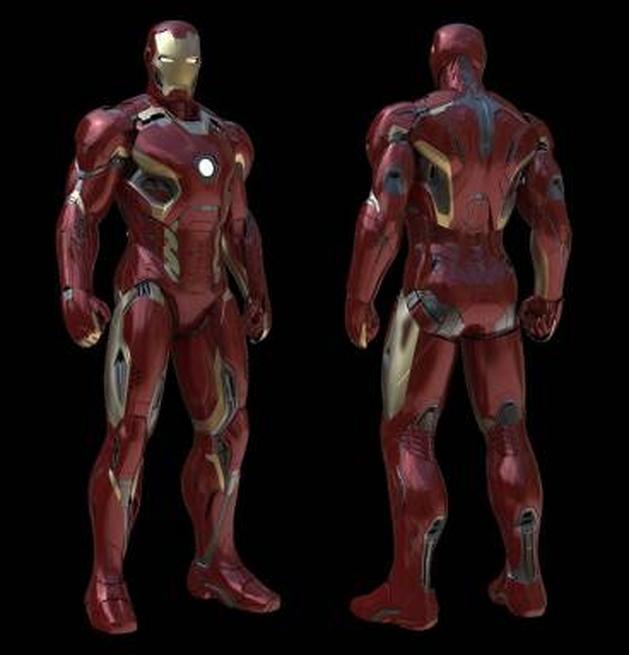 Vingadores: veja algumas artes conceituais do Homem de Ferro e da Hulkbuster