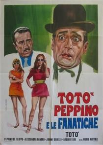 Toto, Peppino e os Fanaticos - Poster / Capa / Cartaz - Oficial 1