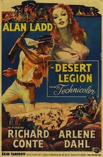 Legião do Deserto - Poster / Capa / Cartaz - Oficial 1