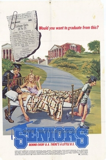 Seniors - Deu a Louca no Campus - Poster / Capa / Cartaz - Oficial 1