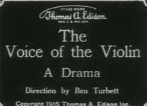 A Voz do Violino - Poster / Capa / Cartaz - Oficial 1