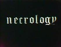 Necrology - Poster / Capa / Cartaz - Oficial 1