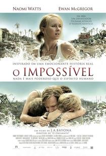 O Impossível - Poster / Capa / Cartaz - Oficial 2