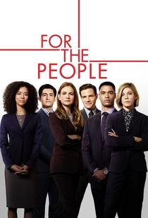 For the People (2ª Temporada) - Poster / Capa / Cartaz - Oficial 1