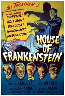 A Casa de Frankenstein - Poster / Capa / Cartaz - Oficial 2