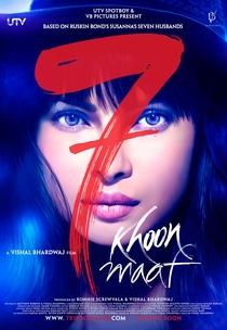 7 Khoon Maaf - Poster / Capa / Cartaz - Oficial 3
