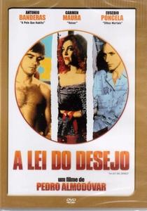 A Lei do Desejo - Poster / Capa / Cartaz - Oficial 5