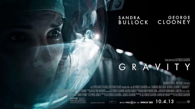 Assista aos trailers de tirar o fôlego do suspense espacial GRAVIDADE, com Sandra Bullock e George Clooney |