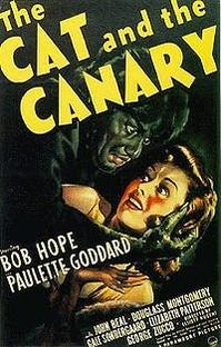 O Gato e o Canário  - Poster / Capa / Cartaz - Oficial 1