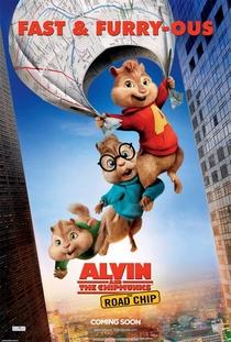 Alvin e os Esquilos: Na Estrada - Poster / Capa / Cartaz - Oficial 10