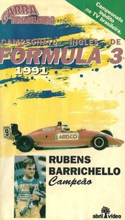 Garra Brasileira - Campeonato Inglês de Formula 3 - Poster / Capa / Cartaz - Oficial 1