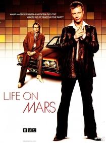 Life on Mars - UK (1ª Temporada) - Poster / Capa / Cartaz - Oficial 1