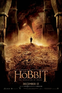 O Hobbit: A Desolação de Smaug - Poster / Capa / Cartaz - Oficial 3