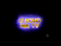 O Povo na tv 1981-???? - Poster / Capa / Cartaz - Oficial 1
