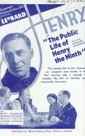 A vida pública de Henrique IX