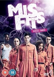 Misfits (3ª Temporada) - Poster / Capa / Cartaz - Oficial 1