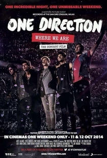 One Direction: Where We Are - The Concert Film - Poster / Capa / Cartaz - Oficial 1
