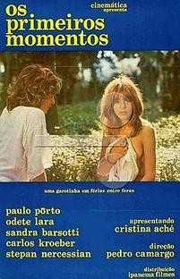 Os Primeiros Momentos - Poster / Capa / Cartaz - Oficial 1