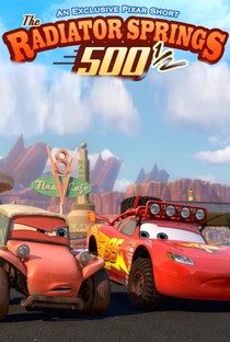 As 500 ½ de Radiator Springs - Poster / Capa / Cartaz - Oficial 1